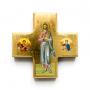 Croix-Icône Christ enseignant
