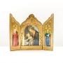 Triptyque La Vierge et l'Enfant lisant un livre Botticelli